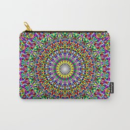 Floral Bohemian Magic Mandala Carry-All Pouch