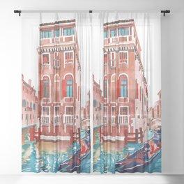 Venice Street Sheer Curtain