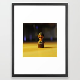 Little pirate Framed Art Print