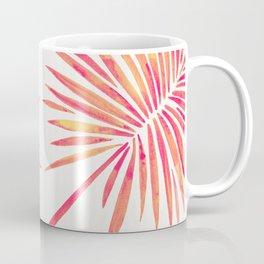 Tropical Fan Palm – Pink Palette Coffee Mug