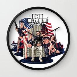Dan Bilzerian Las Vegas Wall Clock