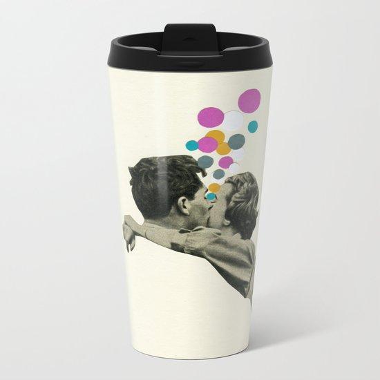 First Kiss Metal Travel Mug