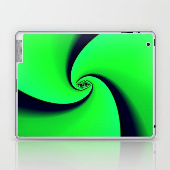 Black and Green  Laptop & iPad Skin