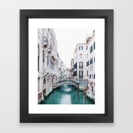 The Floating City - Venice Italy Architecture Photography Framed Art Print