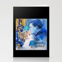 the great gatsby Stationery Cards featuring The Great Gatsby by Christine Chang