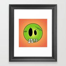 Scary Little Frankinstein Framed Art Print