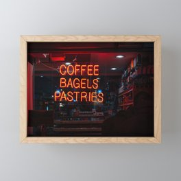 Tompkins Finest Deli Framed Mini Art Print