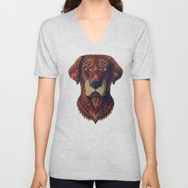 Labrador (Color Version) Unisex V-Neck