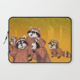 Raccoon Series: What's Going On? Laptop Sleeve