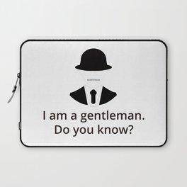I am a gentleman Laptop Sleeve
