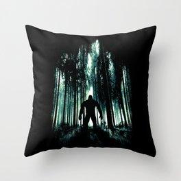 Untold Mystery Throw Pillow