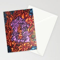 Abstract Colors  Stationery Cards