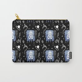 TELEVISION TEXTILE Carry-All Pouch