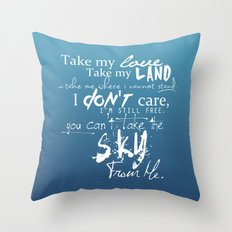 [ Firefly ] The Ballad of Serenity Throw Pillow