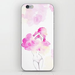 Undress your body iPhone Skin