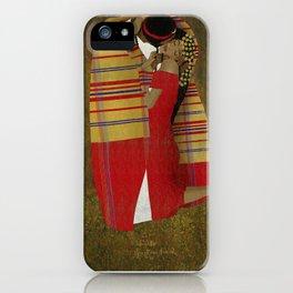 "Al Bousa ""The Kiss"" iPhone Case"