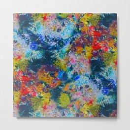 Painter's Palette Metal Print