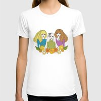 60s T-shirts featuring 60s girls by Bunny Miele