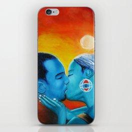 Love Kiss iPhone Skin