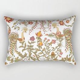 The garden of Eden. Birds. Rectangular Pillow