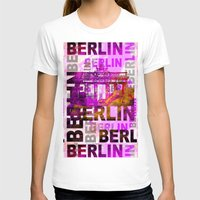 berlin T-shirts featuring Berlin  by LebensART