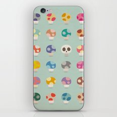 How to Tell Poison Mushrooms iPhone & iPod Skin