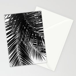Tropical Vibes   Black and White Stationery Cards