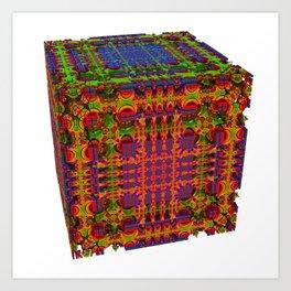 Tech Cubicles | 3D Fractal Art Print