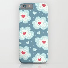 Winter Hearts And Snowy Clouds Slim Case iPhone 6s
