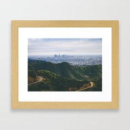Griffith Park Framed Art Print