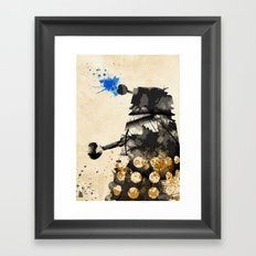 Doctor Who Dalek Rustic Framed Art Print