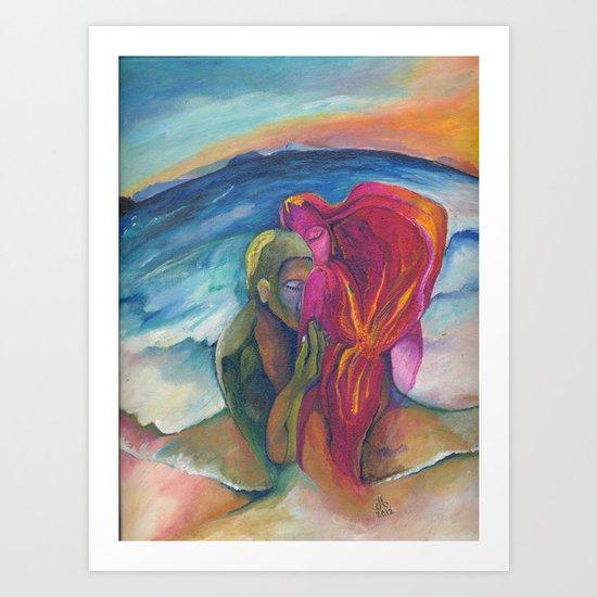 Ashore Art Print