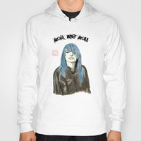 rock and roll Hoodies featuring Rock and Roll by Bryan James