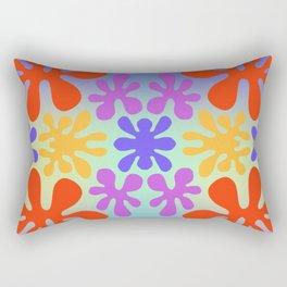 Funky Flower Rectangular Pillow