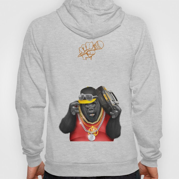 Rapper of the apes Hoody