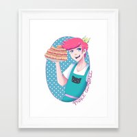 gumball Framed Art Prints featuring Gumball by Alice