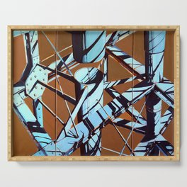 Gerard Byrne Journey to Abstraction Serving Tray