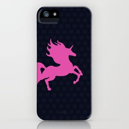 Visible Invisible Pink Unicorn iPhone Case