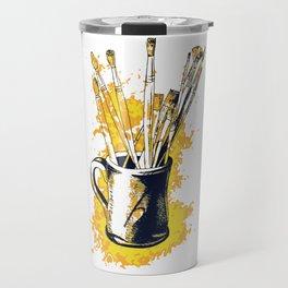 Happiness in a mug3 Travel Mug