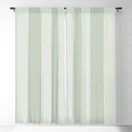 Green Stripes Blackout Curtain