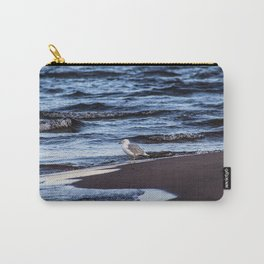 Seagulll by the Waves Carry-All Pouch
