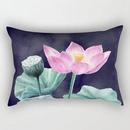 Fairyland Lotus Rectangular Pillow