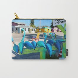 Mailing Flamingos Carry-All Pouch