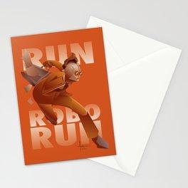 RUN ROBO RUN Stationery Cards