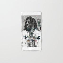 J Cole Album Of The Year [KOD] Freestyle Cover Art Hand & Bath Towel
