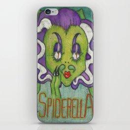 Spiderella iPhone Skin