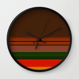 COLOR #35 Wall Clock