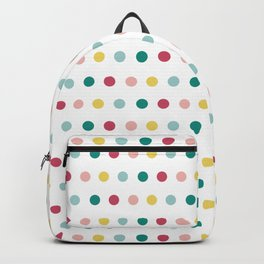Colorful happy dots Backpack