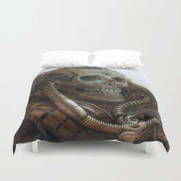 The Timetraveller II Duvet Cover