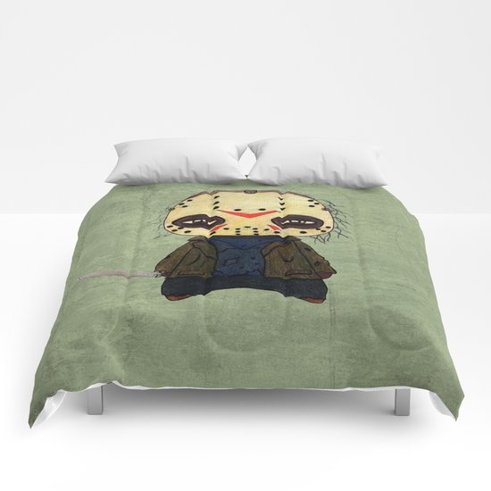 A Boy - Jason ( Friday the 13th) Comforters